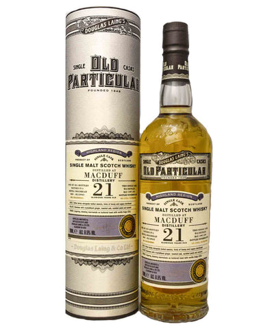 Macduff 21 Douglas Laing Old Particular, Single Malt Whisky, 70cl