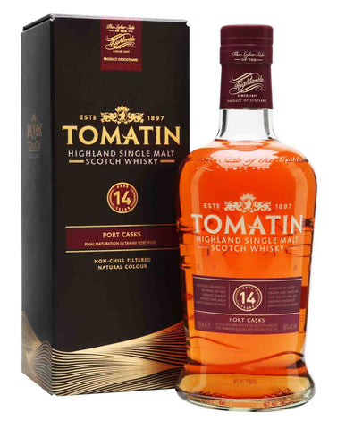Tomatin 14 year old, Single Malt Whisky, 70cl