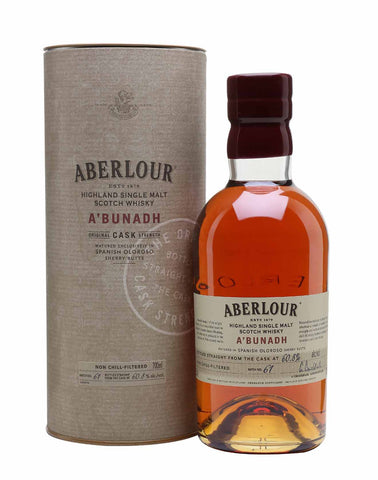 Aberlour A'bunadh Single Malt Whisky, 70cl