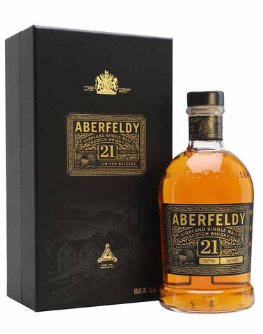 Aberfeldy 21 year old Single Malt Whisky, 70cl