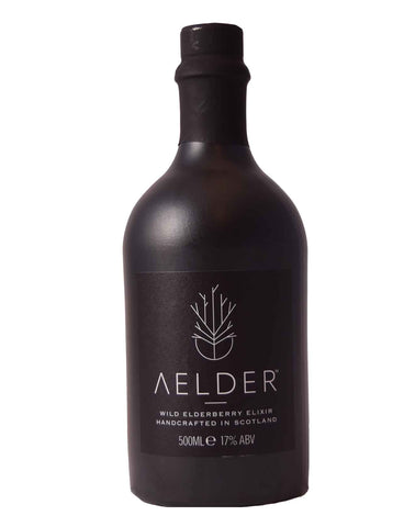 Aelder Elixer - Scottish Wild Elderberry Liqueur,