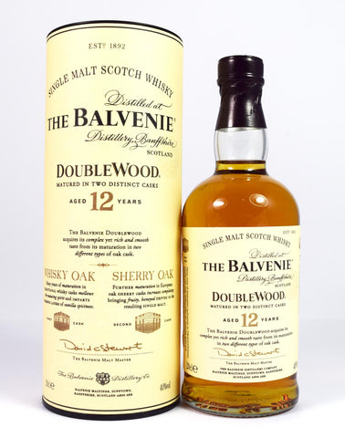 Balvenie 12 year old Double Wood 20cl - Whiski Shop