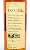 Benrinnes 15 year old - Whiski Shop