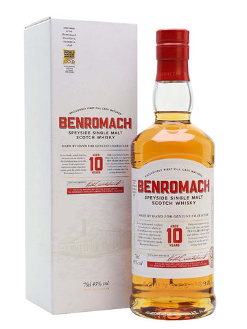 Benromach 10 year old, Single Malt Whisky, 70cl