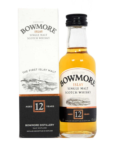 Bowmore 12 year old 5cl - Whiski Shop