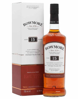 c5a1d92ddf2 Bowmore 15 Year Old Scotch Whisky