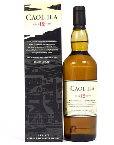Caol Ila 12 year old 20cl - Whiski Shop