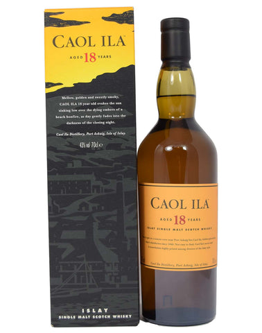 Caol Ila 18 year old - Whiski Shop