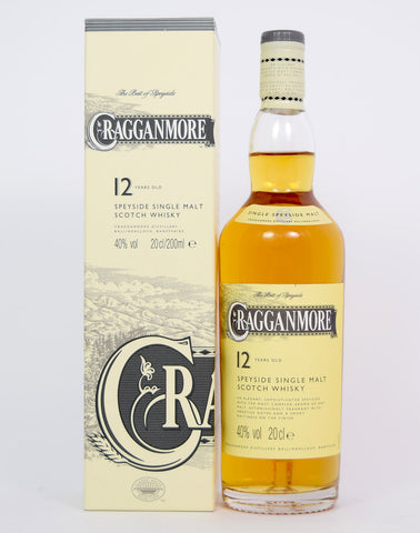 Cragganmore 12 year old 20cl - Whiski Shop