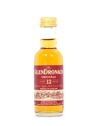 GlenDronach 12 year old 5cl - Whiski Shop