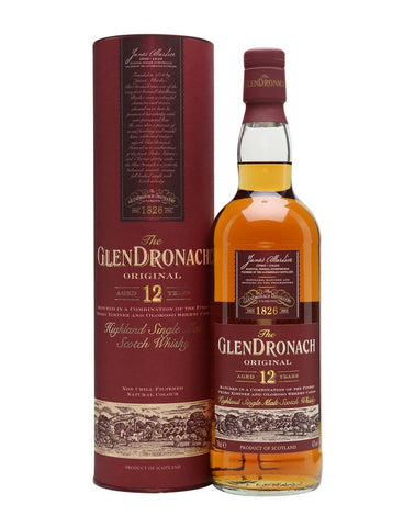 GlenDronach 12 year old, Single Malt Whisky, 70cl
