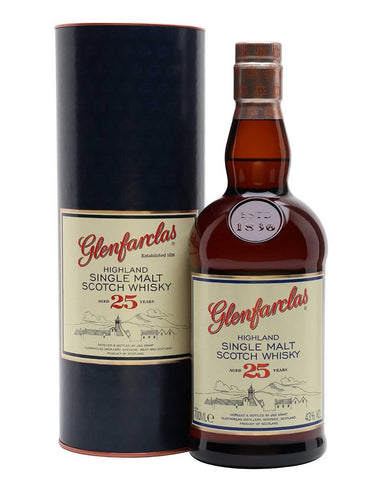 Glenfarclas 25 year old Single Malt, 70cl