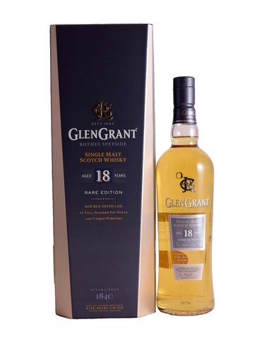 Glen Grant 18 year old Rare Edition