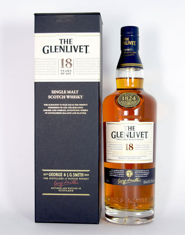 Glenlivet 18 year old - Whiski Shop