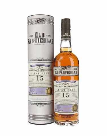 Glenturret 15 Year Old Douglas Laing Old Particular, Single Malt Whisky, 70cl