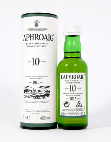Laphroaig 10 year old 5cl - Whiski Shop
