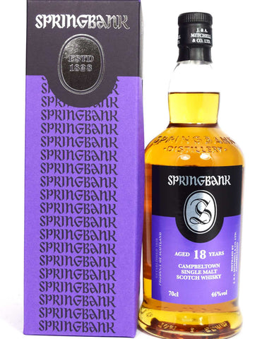 Springbank 18 year old - Whiski Shop