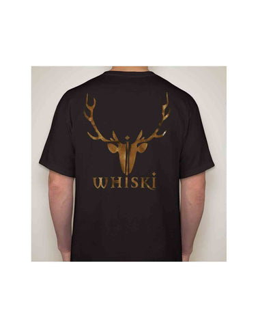 whiski T-shirt stag