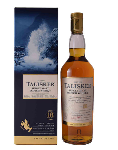 Talisker 18 Year Old, Single Malt Whisky, 70cl