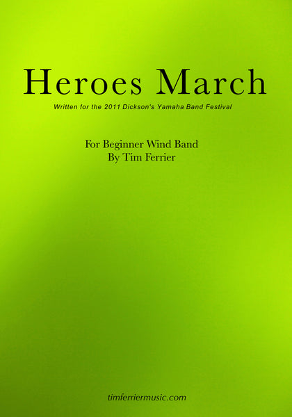Heroes March PDF
