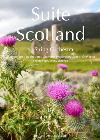 Suite Scotland - Air, Strathspey and Reel for String Orchestra PDF Download