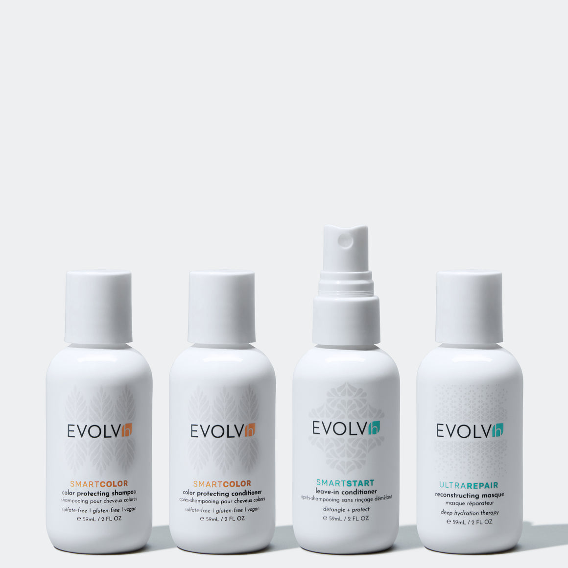 The award winning clean haircare system for Amazing Color Treated Hair