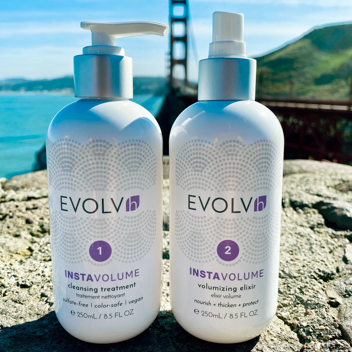 New, simple system for healthy and voluminous hair