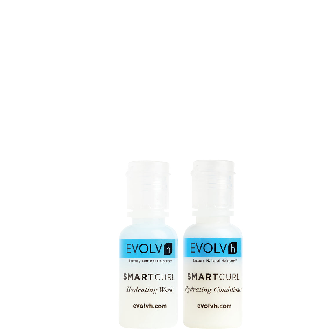 TRY ME!  SmartCurl Hydrating Wash & Conditioner Deluxe Minis