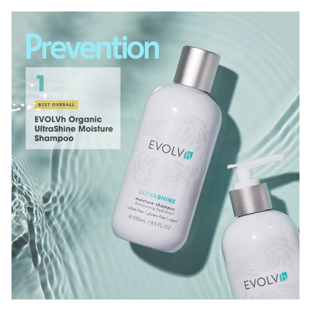 EVOLVh Prevention Award - #1 Best Overall Natural Shampoo