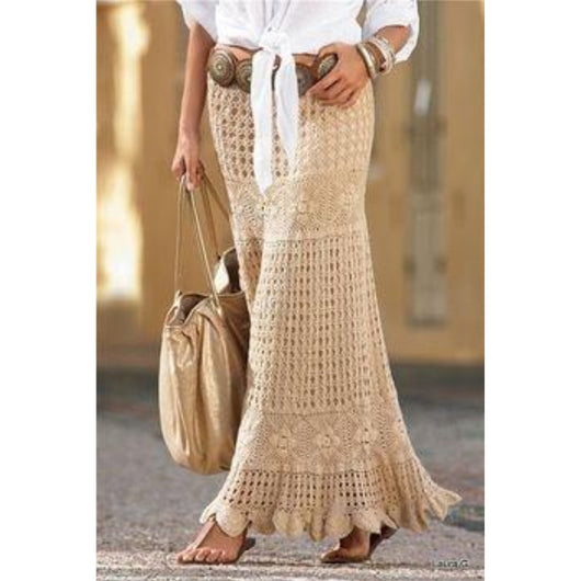 Elegant summer skirt pattern - AsDidy fashion