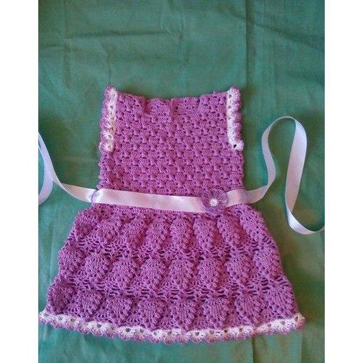 Crochet Baby Dress - FREE SHIPPING - AsDidy fashion