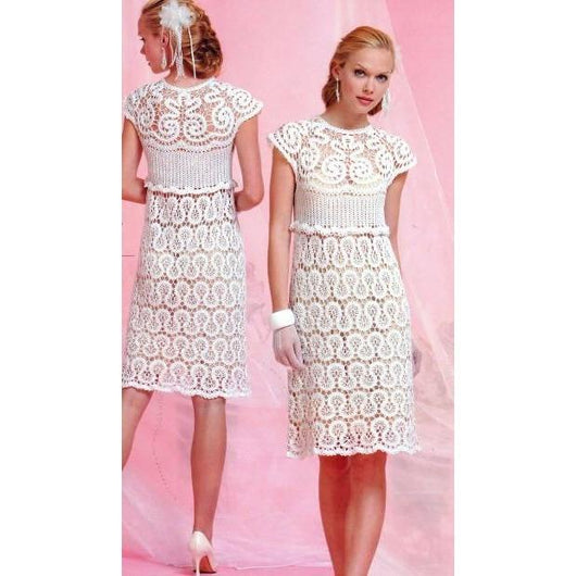 Wedding crochet summer dress - AsDidy fashion