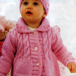 Baby knitted winter coat - AsDidy fashion