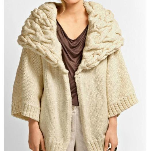 Knitted women jacket - AsDidy fashion