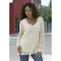 Crochet summer women crochet tunic - MADE TO ORDER - AsDidy fashion