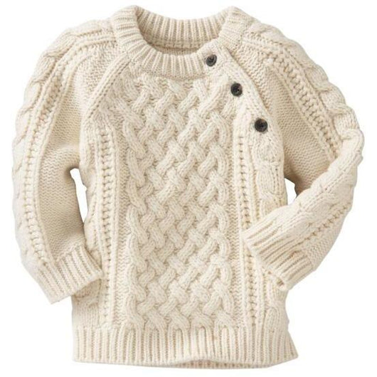 Boy knitted winter jumper - Crochet clothes