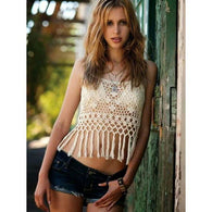 Crochet crop top, handmade summer tcrop top, top crop made to order - AsDidy fashion