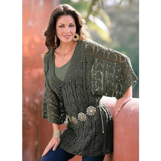 Handmade crochet summer women crochet tunic, boho style - MADE TO ORDER - AsDidy fashion