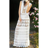 Crochet Boho wedding dress - AsDidy fashion