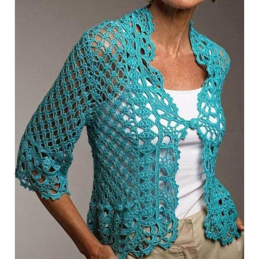 Elegant crochet  cardigan - AsDidy fashion