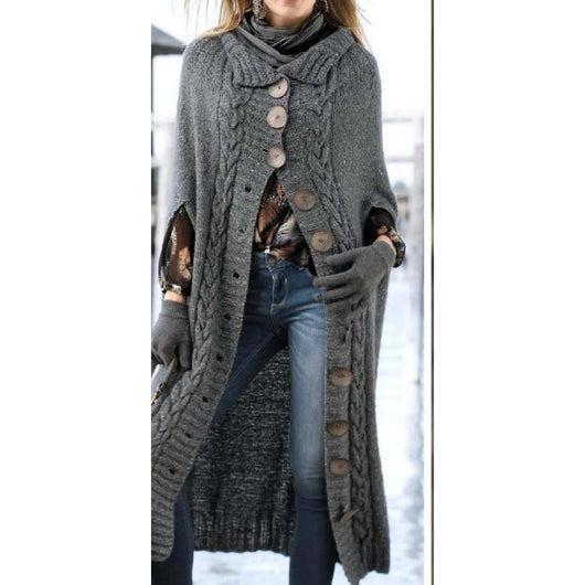 Handmade trendy women long cardigan - Crochet clothes