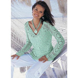 Handmade crochet cute summer women crochet blouse MADE TO ORDER - AsDidy fashion