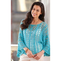 Handmade crochet summer women crochet blouse - AsDidy fashion