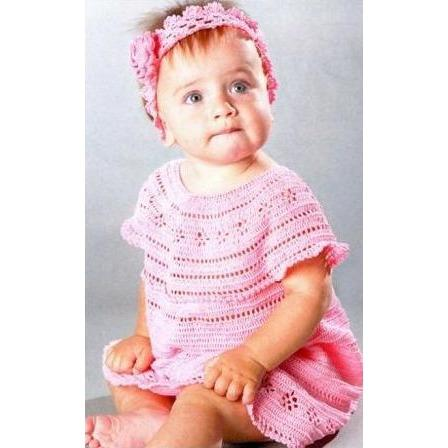 Pink Baby Crochet Dress - AsDidy fashion