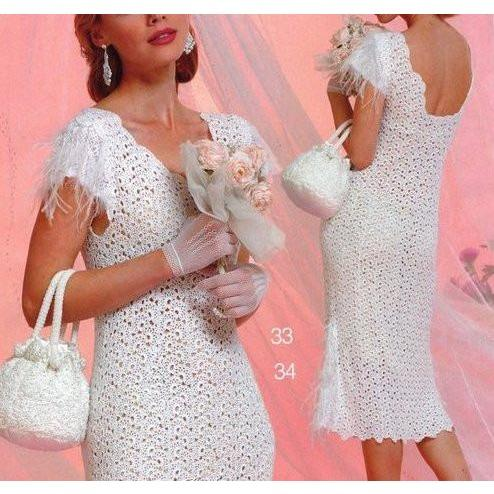 Crochet wedding summer dress - AsDidy fashion