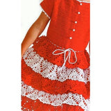 Red Crochet Dress - Crochet clothes