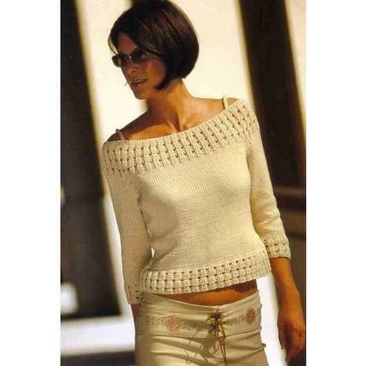 Knitted women crop top - AsDidy fashion