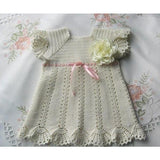 Cream Crochet Dress - AsDidy fashion