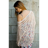 Boho loose crochet top pattern - PDF Pattern only - AsDidy fashion
