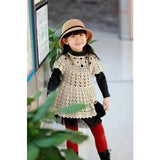 Handmade crochet summer girls dress, Pattern only, in different sizes, written in English, with pictures of the proccess of crocheting - AsDidy fashion